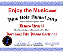 Enjoy the Music - Etsuro Urushi Bordeaux awarded Blue note  Award